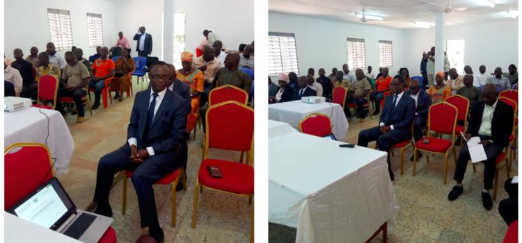 Installation des organes de gestion du nouveau modèle de gouvernance CFP Korhogo, LP Ferké et du CET Bouaké