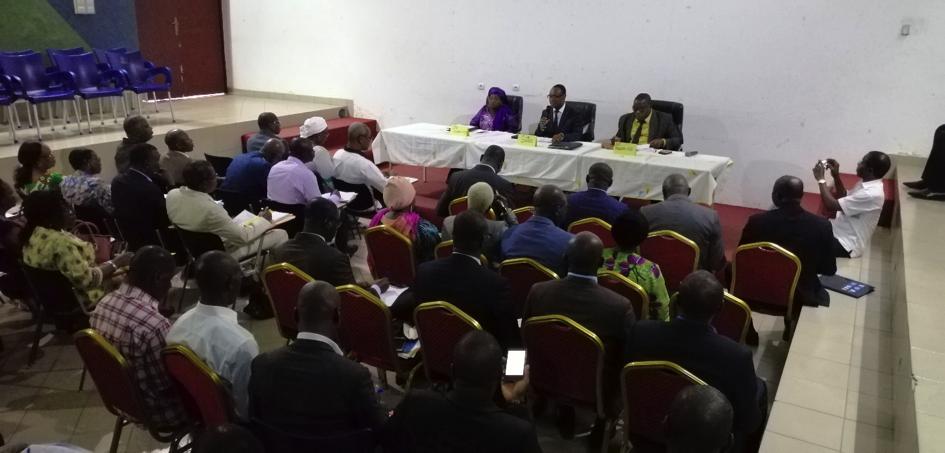 Séance de travail entre DFPI et les Chefs d'Etablissements publics professionnels