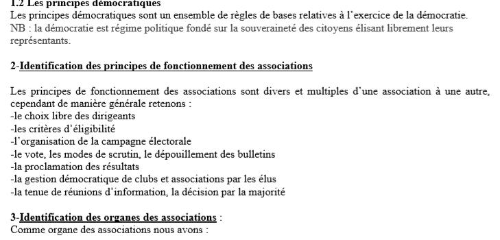 Cours EDHC Appliquer Les Règles De Démocratie Et De Bonne Gouvernance 1ère année CAP CM-MEN(1)